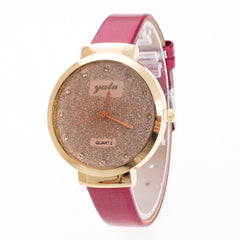 Frosting Crystal Lady's Quartz Watch - Oh Yours Fashion - 3