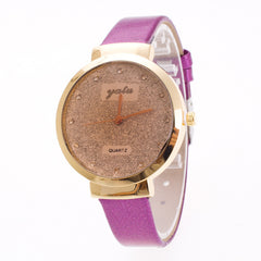Frosting Crystal Lady's Quartz Watch - Oh Yours Fashion - 4