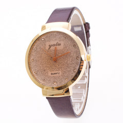Frosting Crystal Lady's Quartz Watch - Oh Yours Fashion - 1