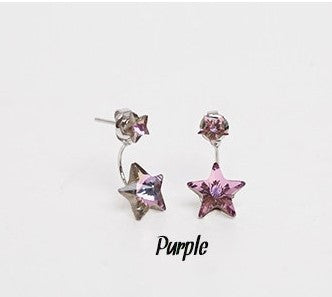 Daisy Flower Crystal Charming Earring - Oh Yours Fashion - 31