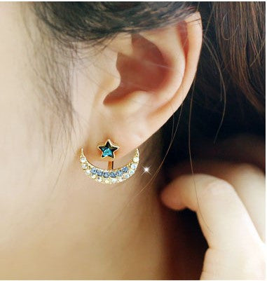 Daisy Flower Crystal Charming Earring - Oh Yours Fashion - 30