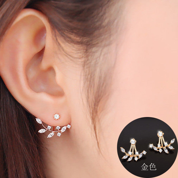Daisy Flower Crystal Charming Earring - Oh Yours Fashion - 5