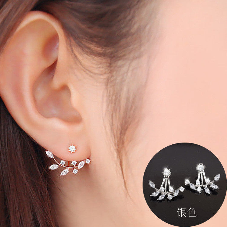 Daisy Flower Crystal Charming Earring - Oh Yours Fashion - 6