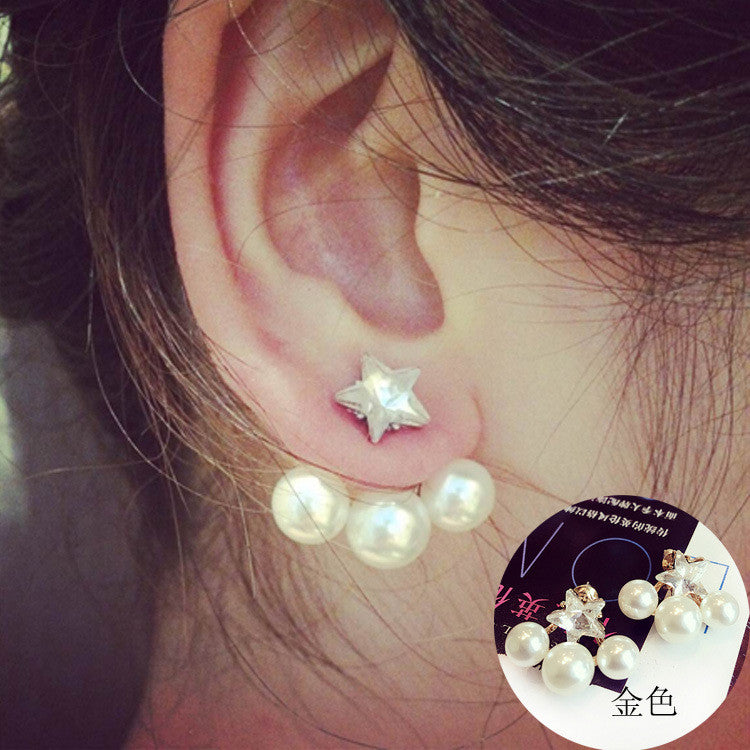 Daisy Flower Crystal Charming Earring - Oh Yours Fashion - 20