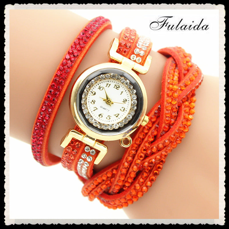 Beautiful Crystal Strap Wrist Watch - Oh Yours Fashion - 7