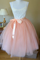 Beautiful Multi-layer Pure Color A-line Tulle Skirt - Oh Yours Fashion - 3