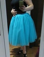 Beautiful Multi-layer Pure Color A-line Tulle Skirt - Oh Yours Fashion - 7