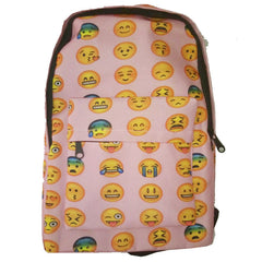 Unique Expression Print Backpack School Travel Bag - Oh Yours Fashion - 3