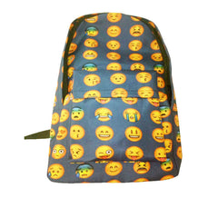 Unique Expression Print Backpack School Travel Bag - Oh Yours Fashion - 4