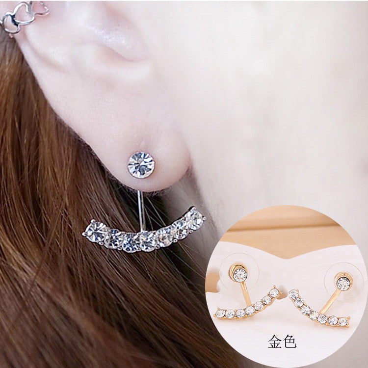 Daisy Flower Crystal Charming Earring - Oh Yours Fashion - 26