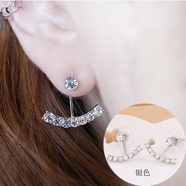 Daisy Flower Crystal Charming Earring - Oh Yours Fashion - 27
