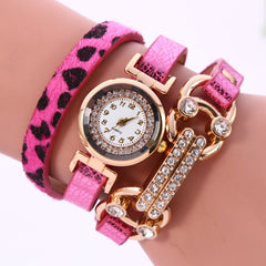 Personality Leopard Print Bone Watch - Oh Yours Fashion - 5
