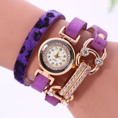 Personality Leopard Print Bone Watch - Oh Yours Fashion - 3
