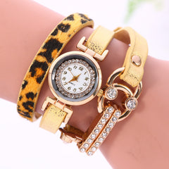 Personality Leopard Print Bone Watch - Oh Yours Fashion - 2