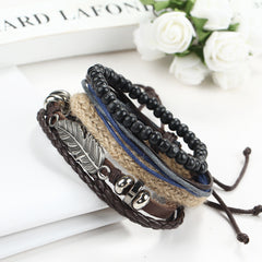 Angel's Wing Multilayer Beaded Bracelet - Oh Yours Fashion - 2