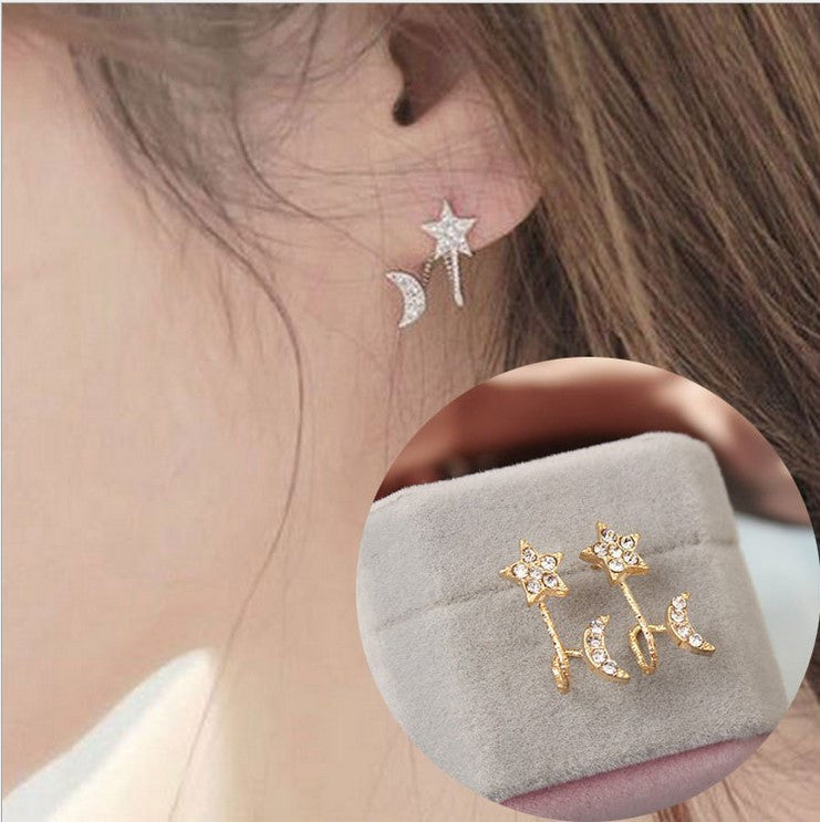 Daisy Flower Crystal Charming Earring - Oh Yours Fashion - 11