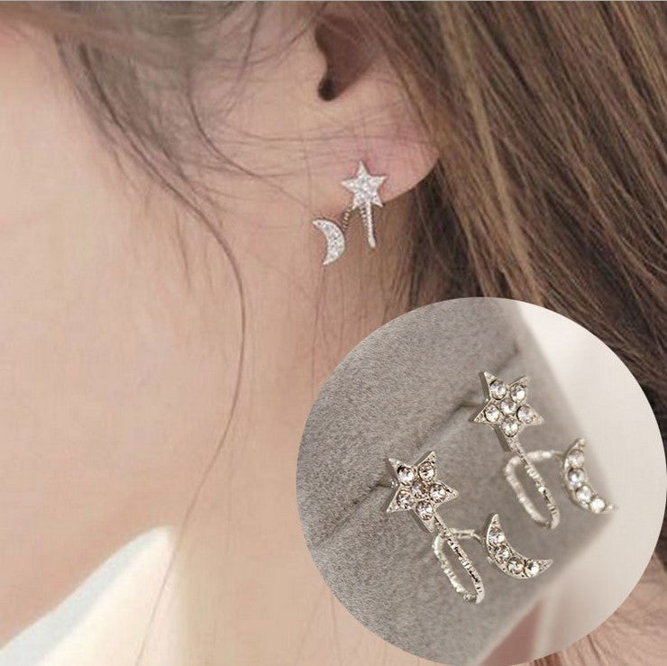 Daisy Flower Crystal Charming Earring - Oh Yours Fashion - 12