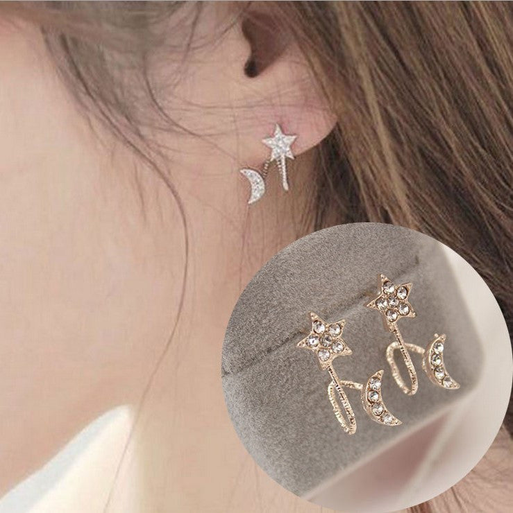Daisy Flower Crystal Charming Earring - Oh Yours Fashion - 10