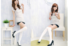 Over the Knee Thinner Cotton Socks - O Yours Fashion - 9