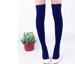 Over the Knee Thinner Cotton Socks - O Yours Fashion - 13