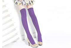 Over the Knee Thinner Cotton Socks - O Yours Fashion - 15