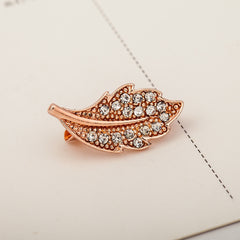 Metal Pins Lotus Leaf Maple Brooch - Oh Yours Fashion - 3