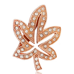 Metal Pins Lotus Leaf Maple Brooch - Oh Yours Fashion - 1
