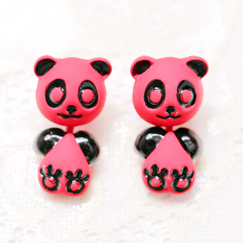 3D Cartoon Animals Through Stud Earrings - Oh Yours Fashion - 9