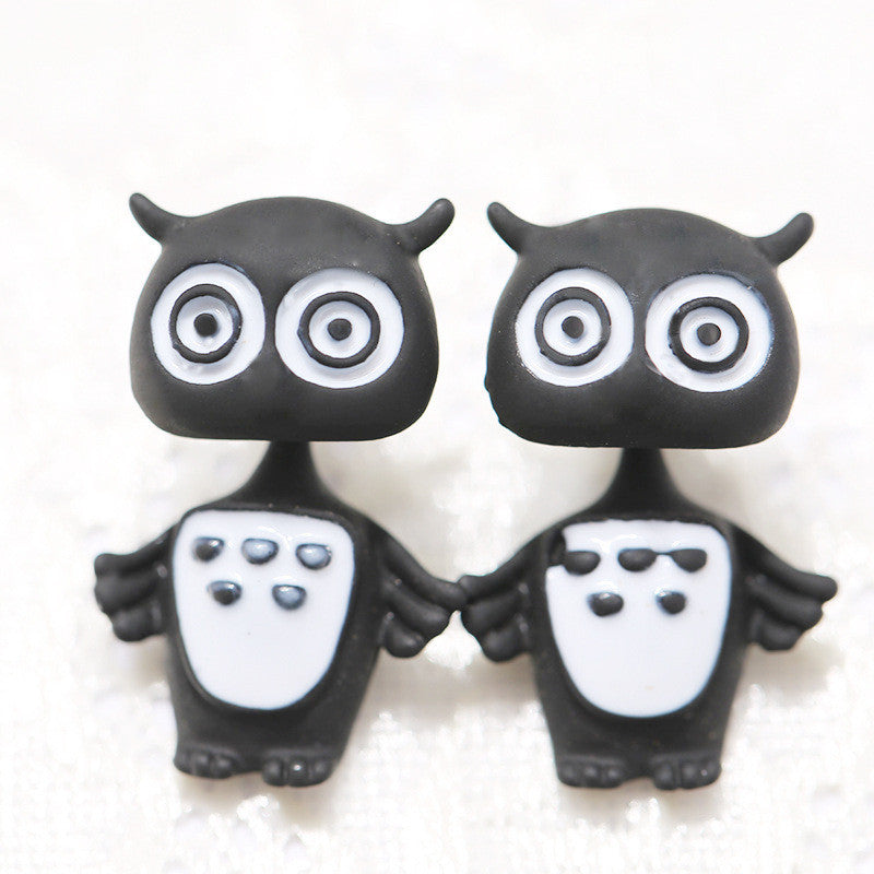 3D Cartoon Animals Through Stud Earrings - Oh Yours Fashion - 12