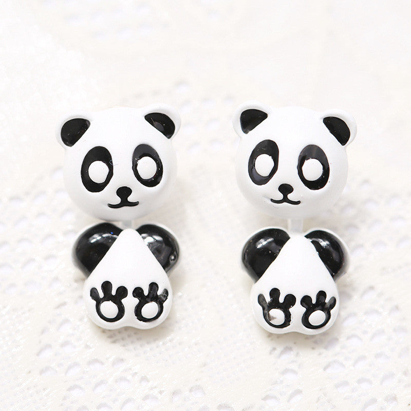 3D Cartoon Animals Through Stud Earrings - Oh Yours Fashion - 10