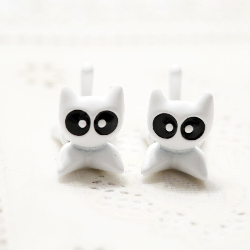 3D Cartoon Animals Through Stud Earrings - Oh Yours Fashion - 5
