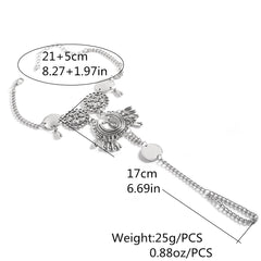 Exaggerate National Drop Pendant Tassel Anklet - Oh Yours Fashion - 6