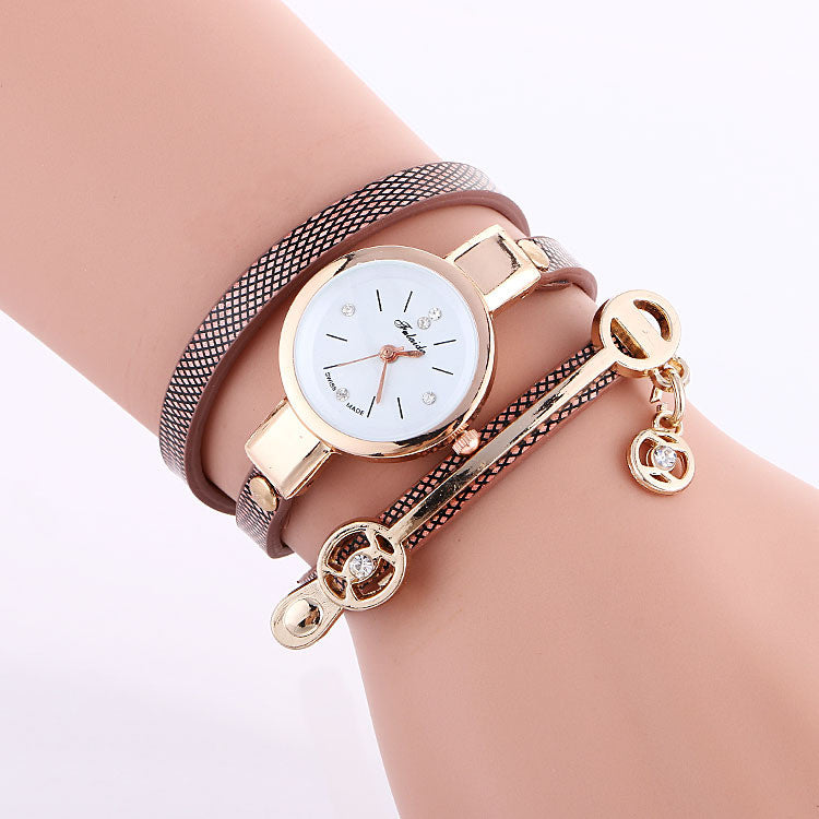 Classic Small Dial Wrap Metal Decoration Watch - Oh Yours Fashion - 8