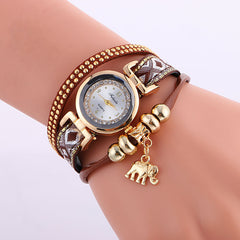Classic Elephant Beads Pendant Watch - Oh Yours Fashion - 6