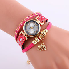Classic Elephant Beads Pendant Watch - Oh Yours Fashion - 5