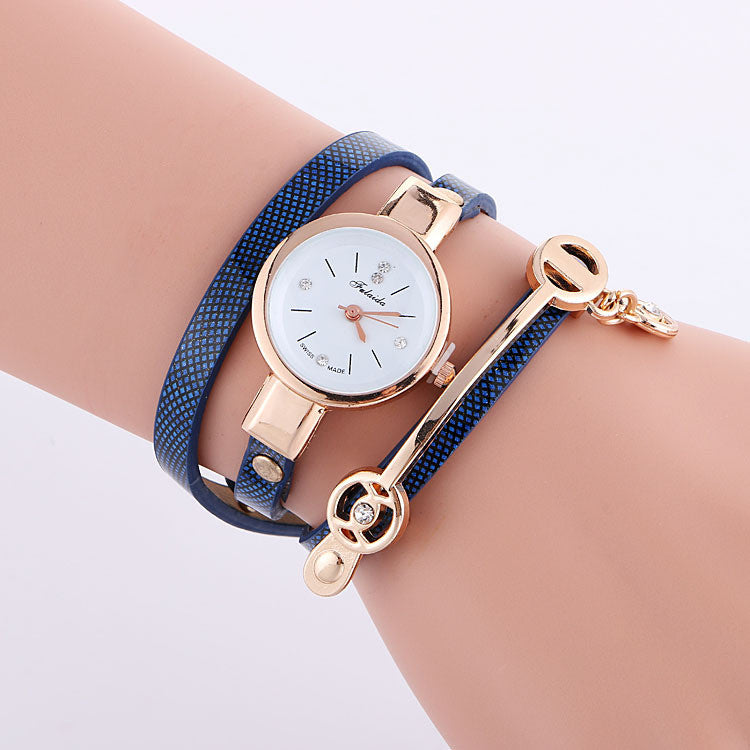 Classic Small Dial Wrap Metal Decoration Watch - Oh Yours Fashion - 7