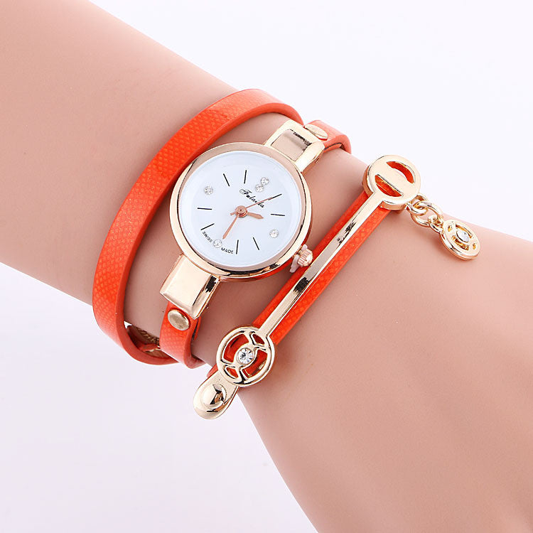Classic Small Dial Wrap Metal Decoration Watch - Oh Yours Fashion - 6