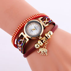 Classic Elephant Beads Pendant Watch - Oh Yours Fashion - 2