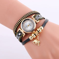 Classic Elephant Beads Pendant Watch - Oh Yours Fashion - 3