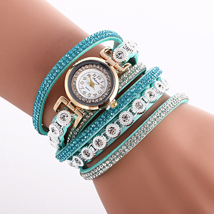 Fashion Crystal Strap Bracelet Watch - Oh Yours Fashion - 6