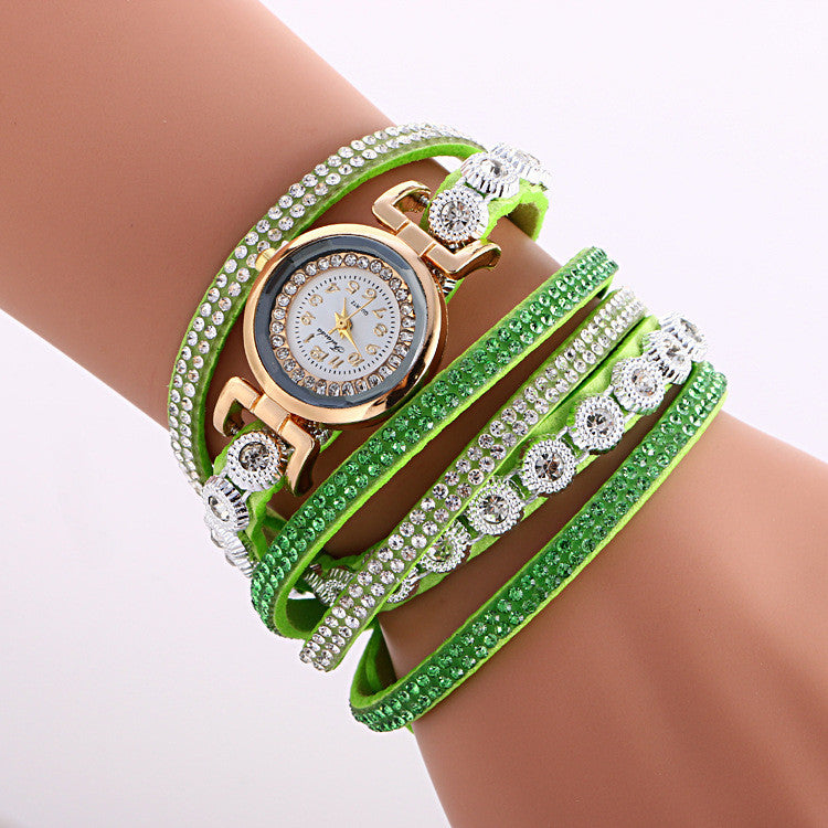 Fashion Crystal Strap Bracelet Watch - Oh Yours Fashion - 5