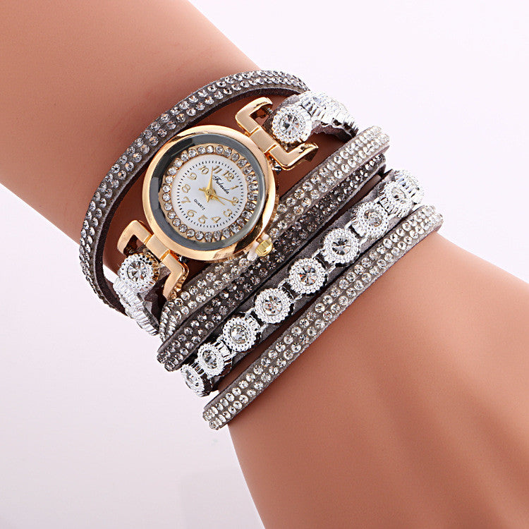 Fashion Crystal Strap Bracelet Watch - Oh Yours Fashion - 9