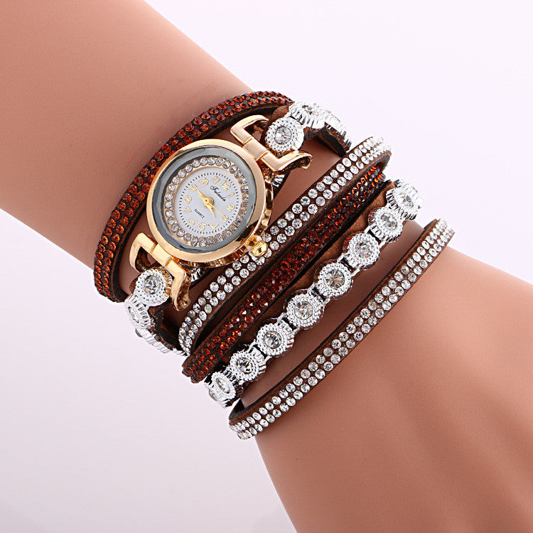 Fashion Crystal Strap Bracelet Watch - Oh Yours Fashion - 11