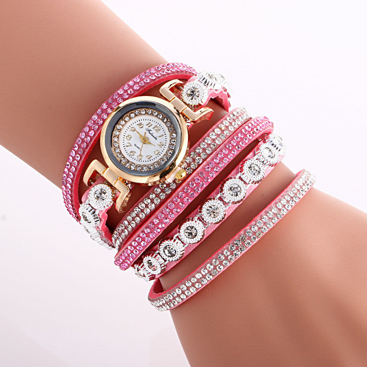 Fashion Crystal Strap Bracelet Watch - Oh Yours Fashion - 10