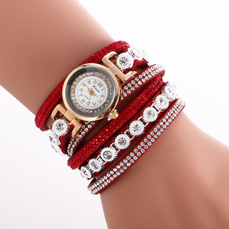 Fashion Crystal Strap Bracelet Watch - Oh Yours Fashion - 3