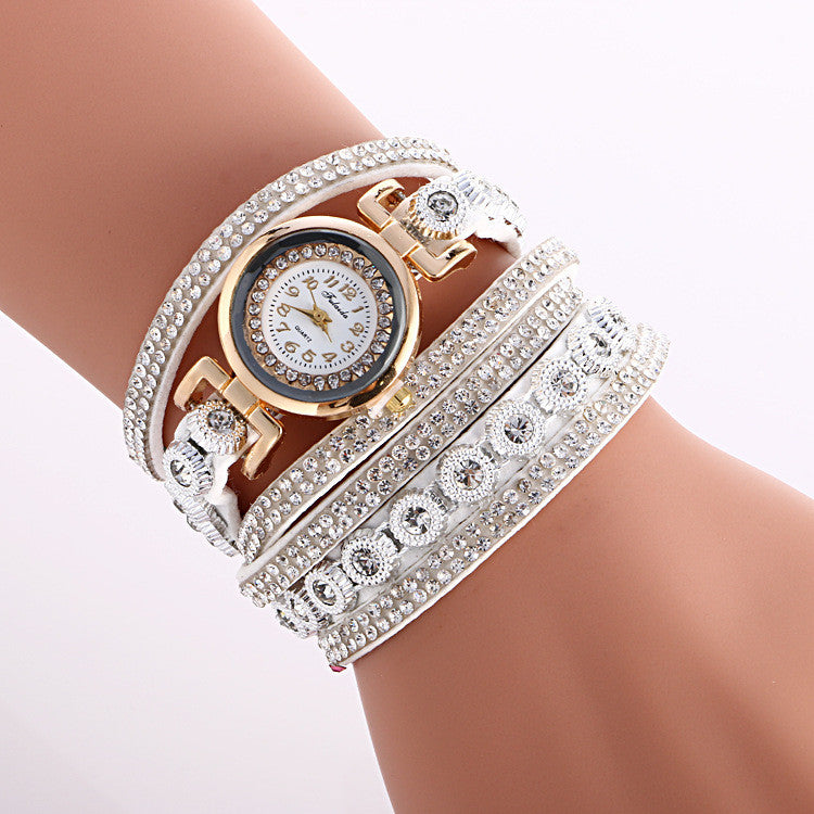 Fashion Crystal Strap Bracelet Watch - Oh Yours Fashion - 2