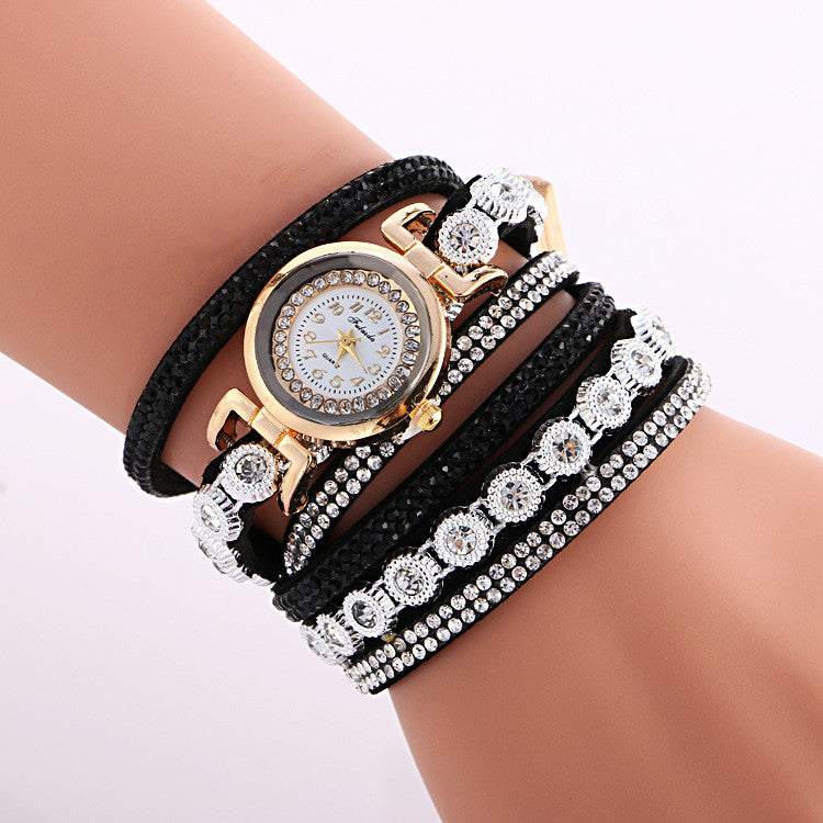 Fashion Crystal Strap Bracelet Watch - Oh Yours Fashion - 7