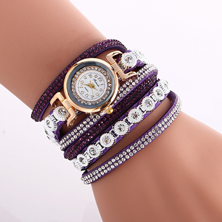 Fashion Crystal Strap Bracelet Watch - Oh Yours Fashion - 4