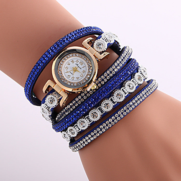 Fashion Crystal Strap Bracelet Watch - Oh Yours Fashion - 8