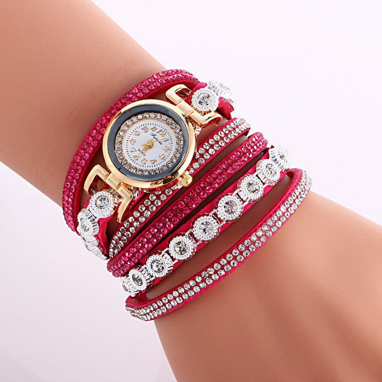 Fashion Crystal Strap Bracelet Watch - Oh Yours Fashion - 1